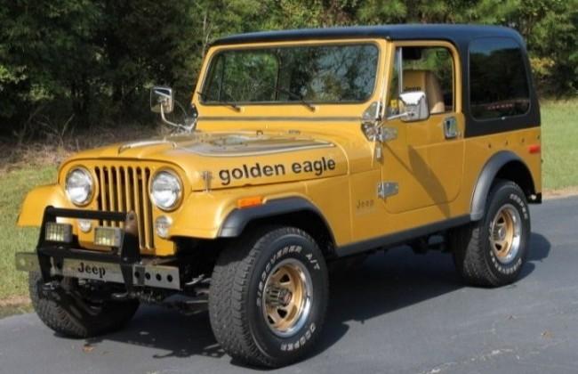 Jeep CJ-7, 1976 год