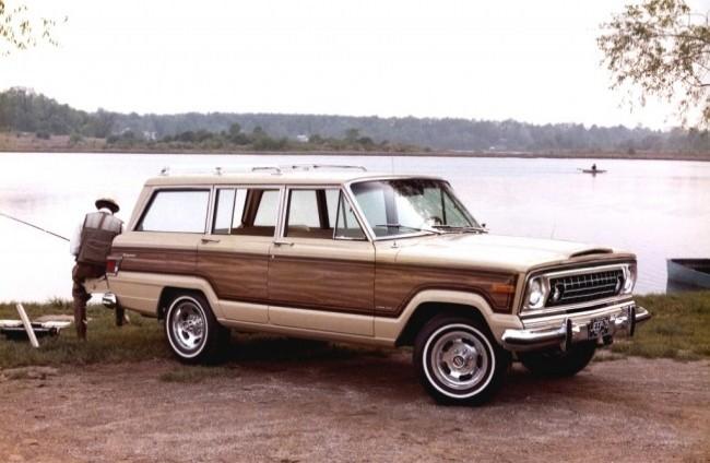 Jeep Grand Wagoneer, 1975 год