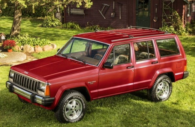 Jeep Cherokee (XJ), 1984 год