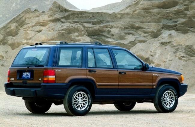 Jeep Grand Wagoneer, 1993 год