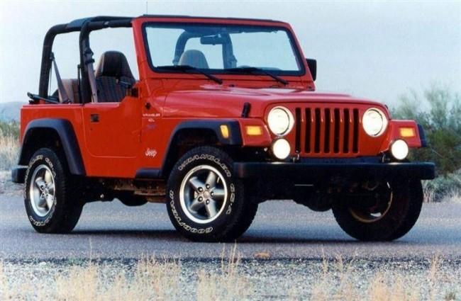 Jeep Wrangler (TJ), 1996 год