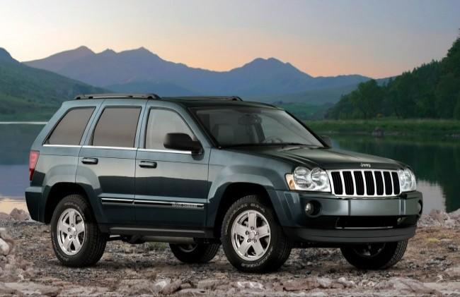 Jeep Grand Cherokee (WK), 2005 год