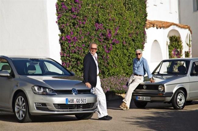 «Игроки в Golf» – Джорджио Джуджаро у Golf I и Вальтер де Сильва у Golf VII