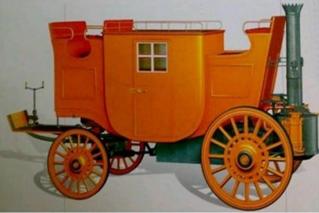 Полноприводной паровик Берсталла и Хилла 1824 года
