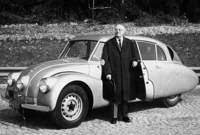 Tatra 87, 1938 года и Ганс Ледвинка