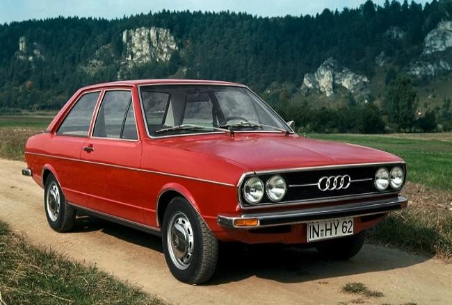 Audi 80 B1, 1972 года