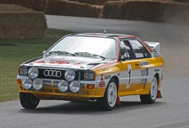 Audi Quattro, 1983 года