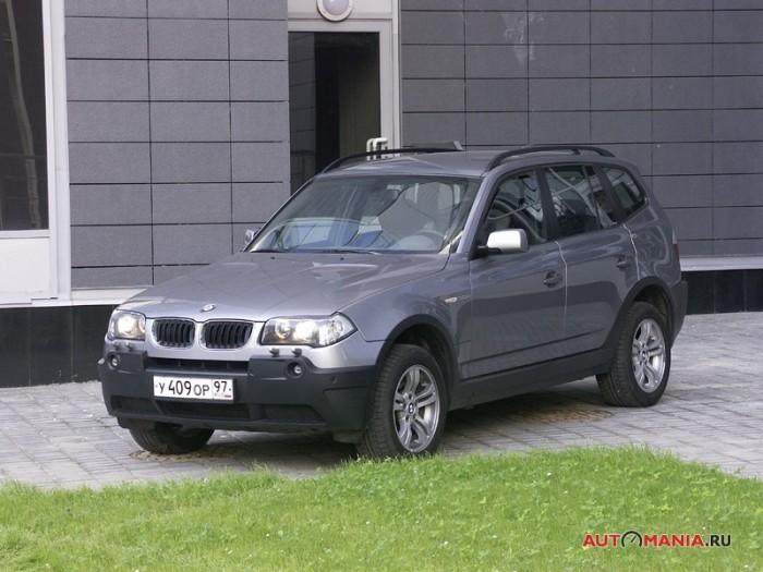 отзыв о bmw x3, дизель 2005