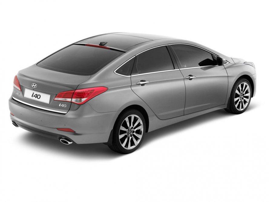 Качественные Hyundai i40 фото.