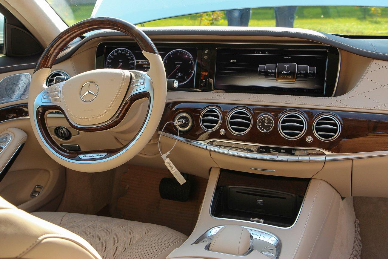 Mercedes s class w222 фото