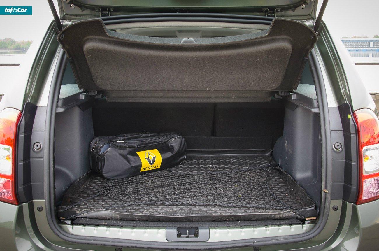 Органайзер в багажник рено дастер своими руками
