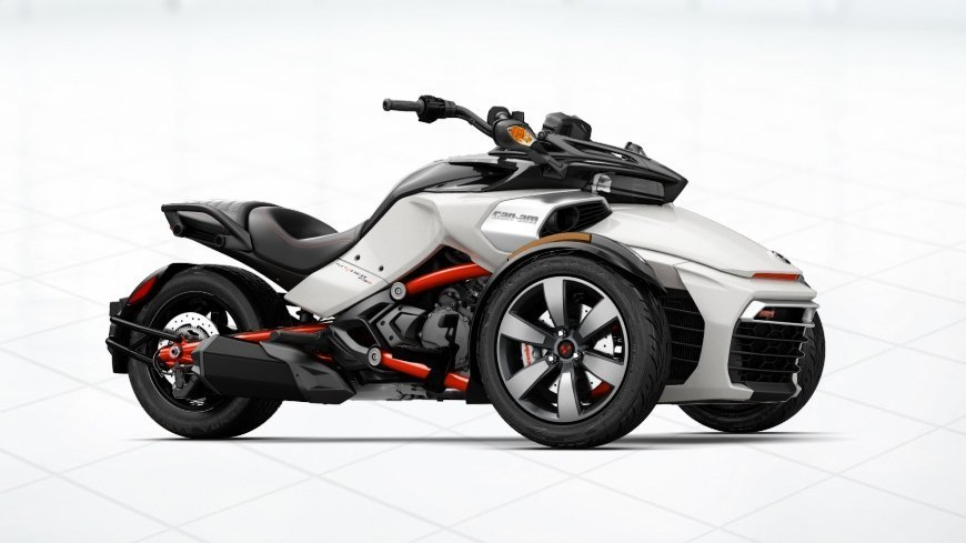 Spyder 2017 модельного года. Мотоцикл спайдер. Характеристики. Цена. Фото
