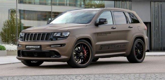 «Горячему» Jeep Grand Cherokee добавили механический нагнетатель