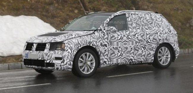 Volkswagen начал дорожные испытания нового Tiguan