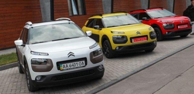 Citroen C4 Cactus дебютировал в Украине