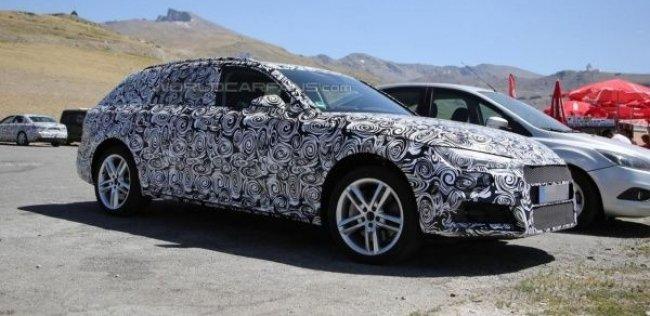 Новый Audi A4 Allroad впервые замечен на тестах