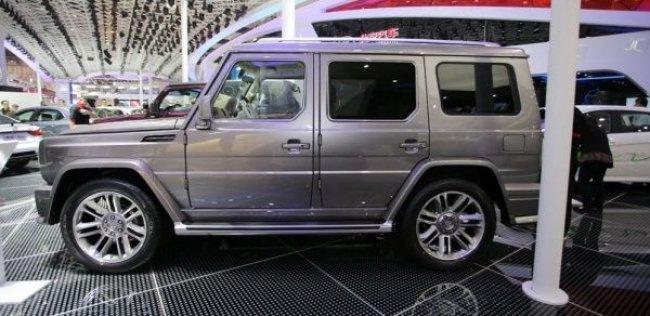 Китайская подделка Mercedes G-класса скоро поступит в продажу