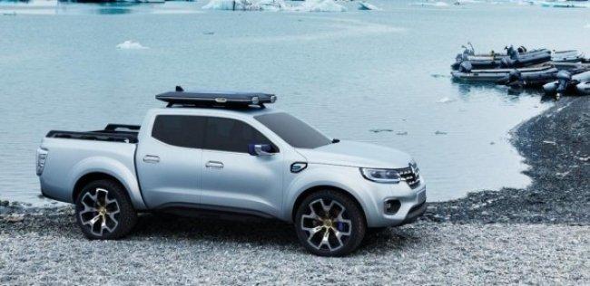 Renault представила концепт пикапа