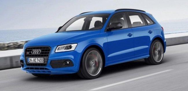 Audi выводит на рынок внедорожник SQ5 TDI plus