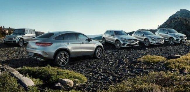 Mercedes-Benz показал двузначный рост продаж