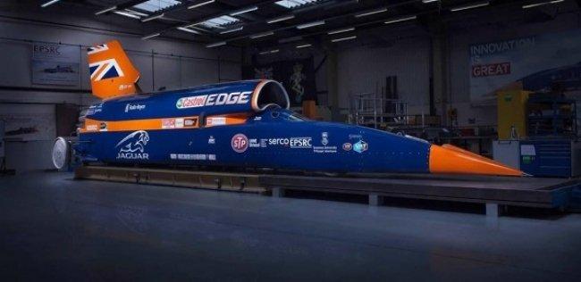 Лондонцам показали 135-тысячесильный сверхзвуковой автомобиль