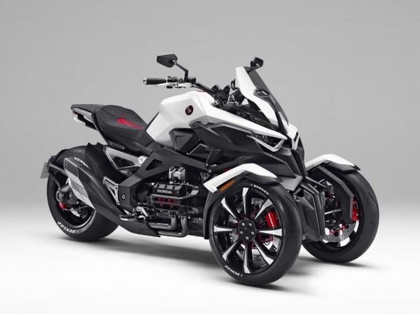 Концепт трицикла Honda Neowing