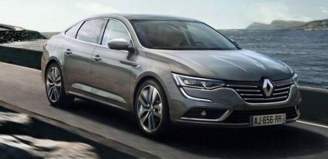 Renault объявила цены на новый седан Talisman