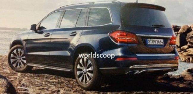 Внедорожник Mercedes GLS рассекретили до премьеры
