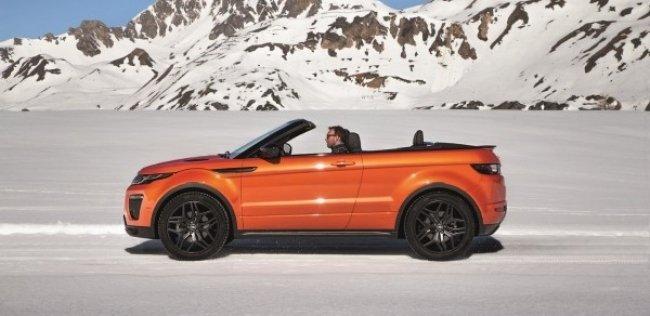 В семействе Range Rover впервые появился кабриолет