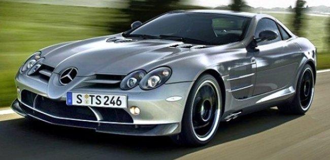 Новое поколение Mercedes SLR станет гибридным