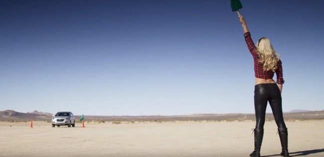 Водородный кроссовер Hyundai установил рекорд скорости