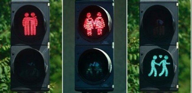 В Австрии отказываются от «гомосексуальных» светофоров