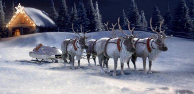 «Мерседес» запустил конфигуратор саней Санта-Клауса