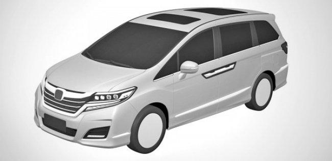 Honda запатентовала дизайн нового минивэна