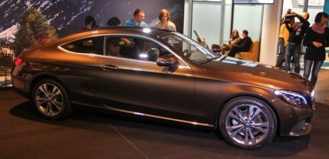 В Украине дебютировало купе Mercedes-Benz C-Class и новое поколение smart