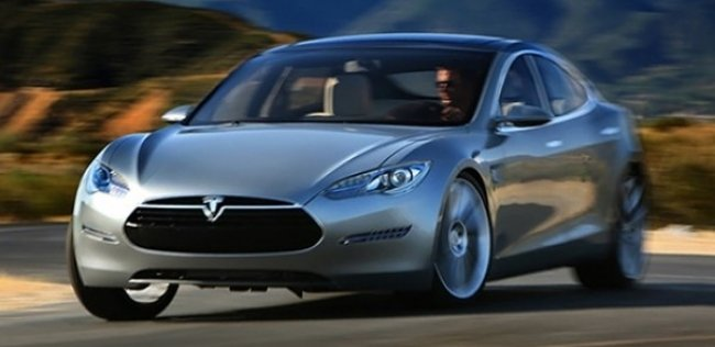 ������� ���� �� ����� ������������� ����� Tesla Model III