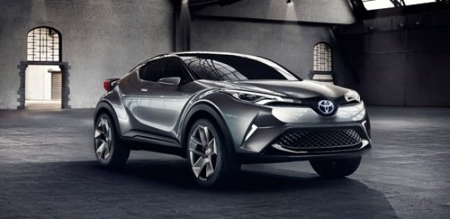 Toyota �������� � ����� �������������� ��������� ��������� C-HR