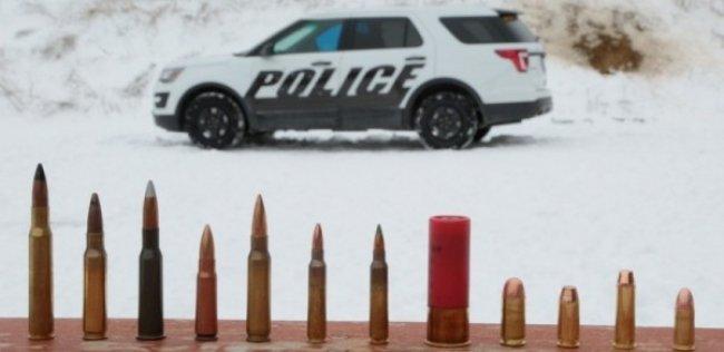 Ford продемонстрировал броню своего полицейского перехватчика