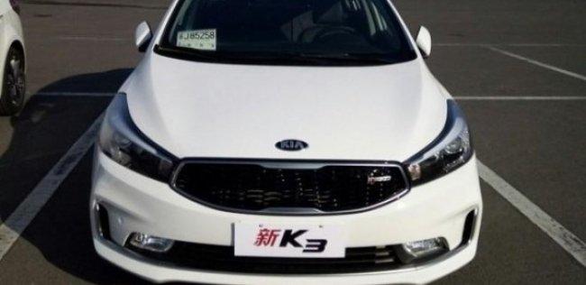 Седан Kia K3 готов к китайской премьере