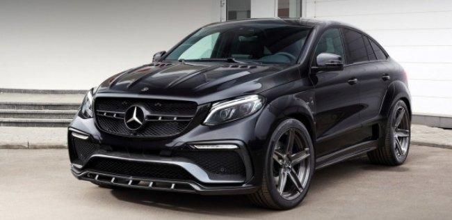 Кроссовер-купе Mercedes GLE накачали стероидами