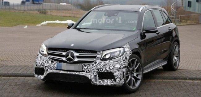 Самый мощный Mercedes-Benz GLC получит 600-сильный мотор