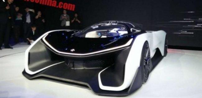 В Пекине дебютировал китайский электросуперкар Faraday Future
