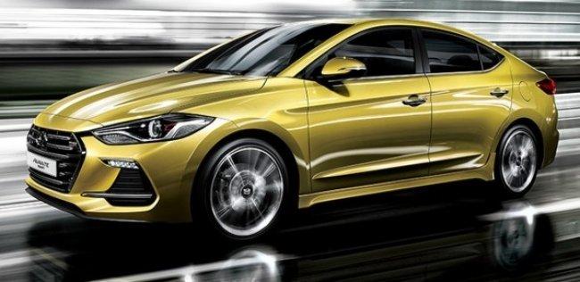 Hyundai показал Elantra Sport 2017 года