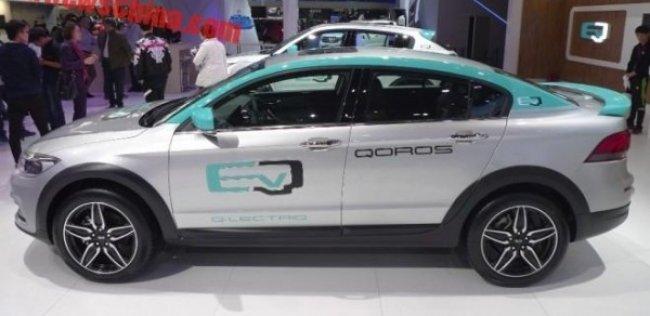 Qoros показал электрический концепт
