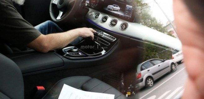 Рассекречен салон нового купе Mercedes E-Class