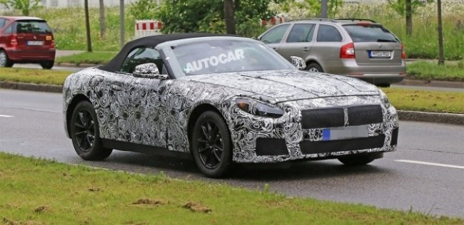 Преемник BMW Z4 получит гибридную версию
