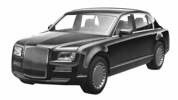 Рассекречена панель устройств грядущего лимузина Путина