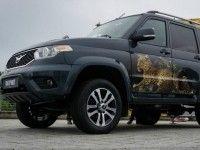 Внедорожнику UAZ Patriot добавили комфорта и безопасности