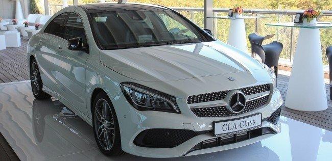 Обновленный Mercedes-Benz CLA назвали рок-звездой