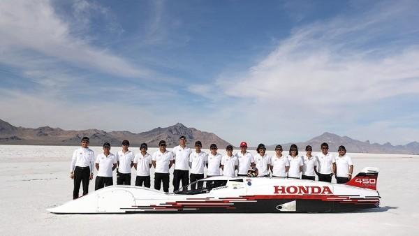 Honda с 3-цилиндровым двигателем разбежалась до 421 км/ч